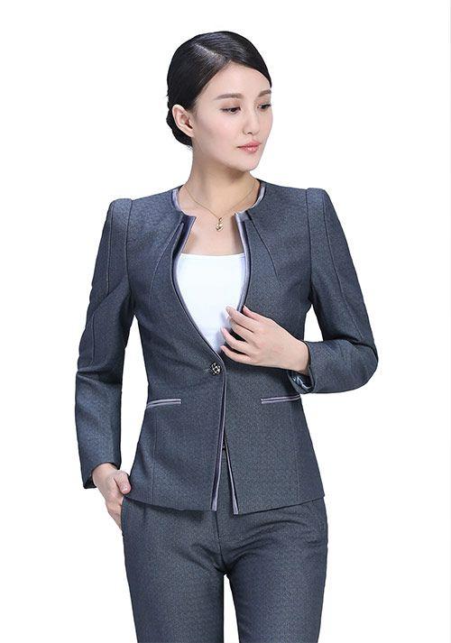 北京定制女士商务职业装之职业装 工作服的设计要点